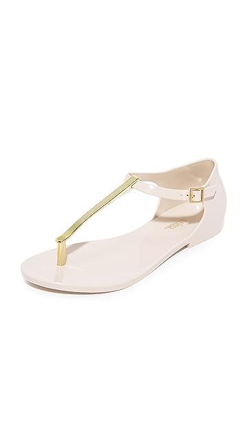 Melissa Honey Chrome Sandals