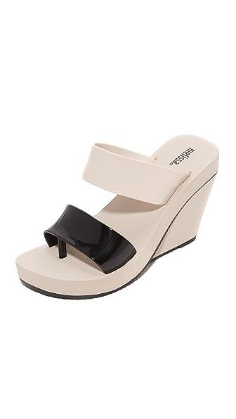 Melissa Summer High Wedge Sandals - Beige