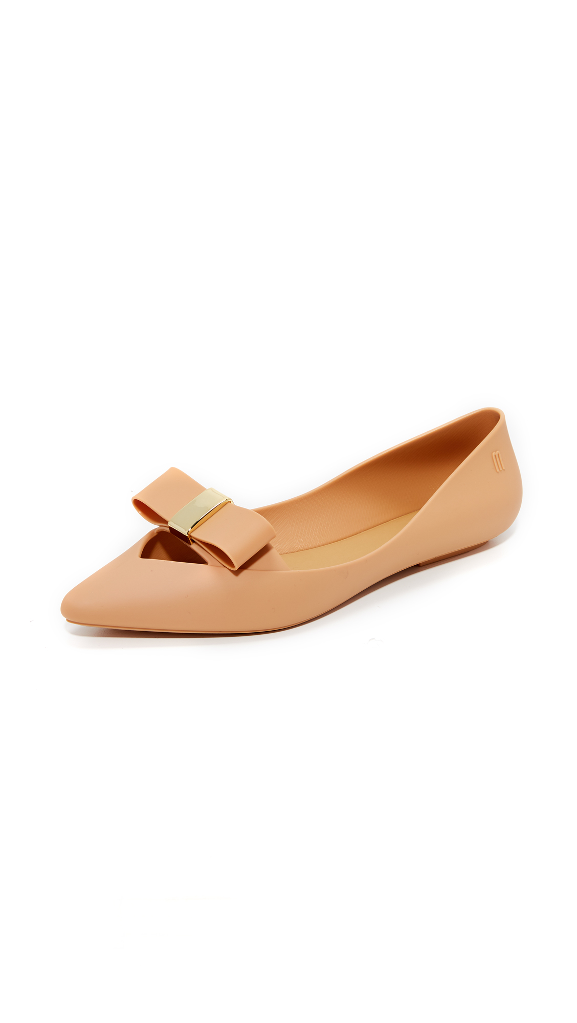 Melissa Maisie II Flats - Light Brown