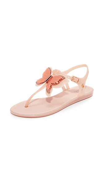 Melissa Solar Fly Sandals - Light Pink Matte