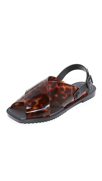 Melissa Sauce Crisscross Sandals
