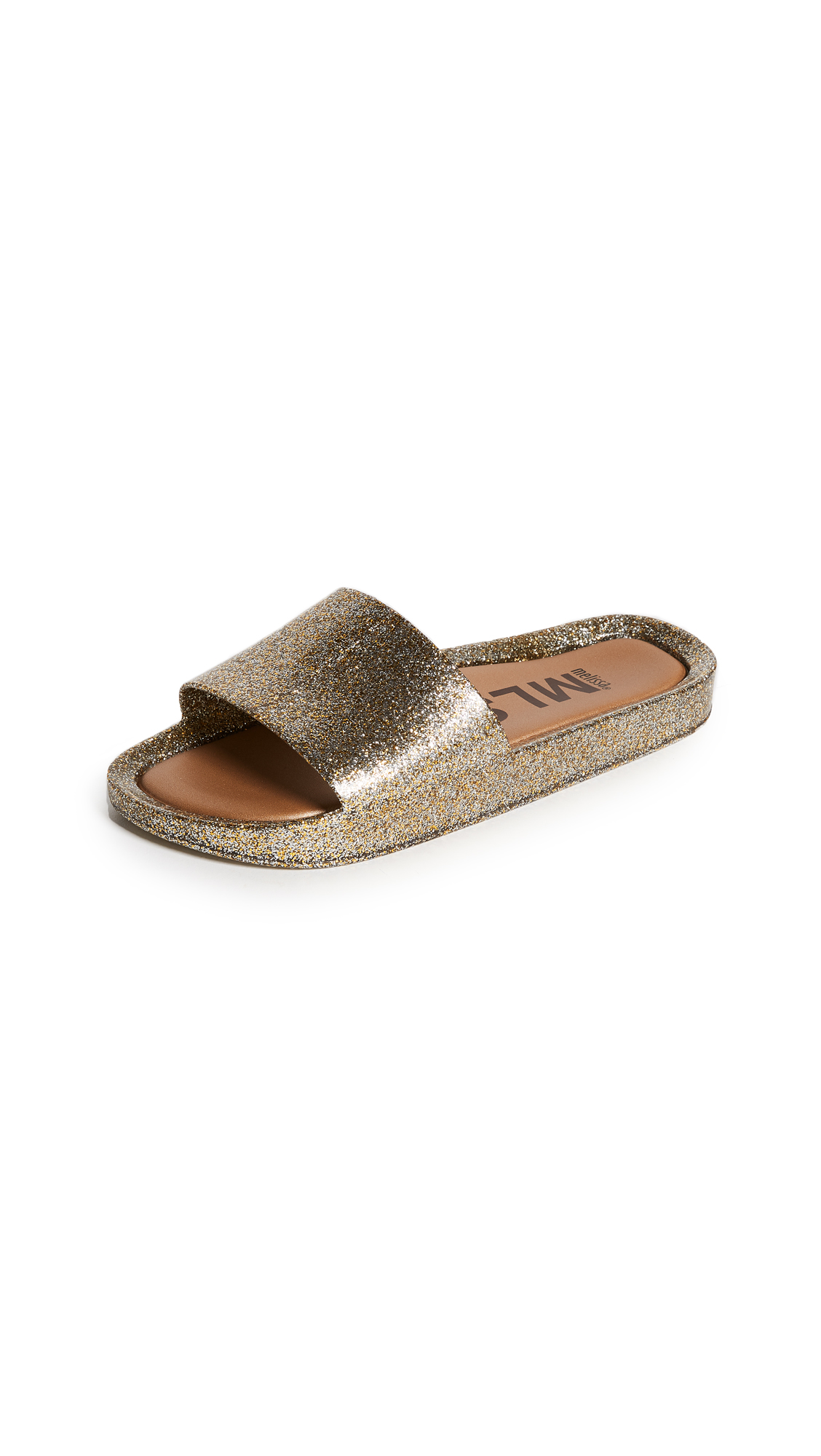 Melissa Beach Slides III - Gold Printed