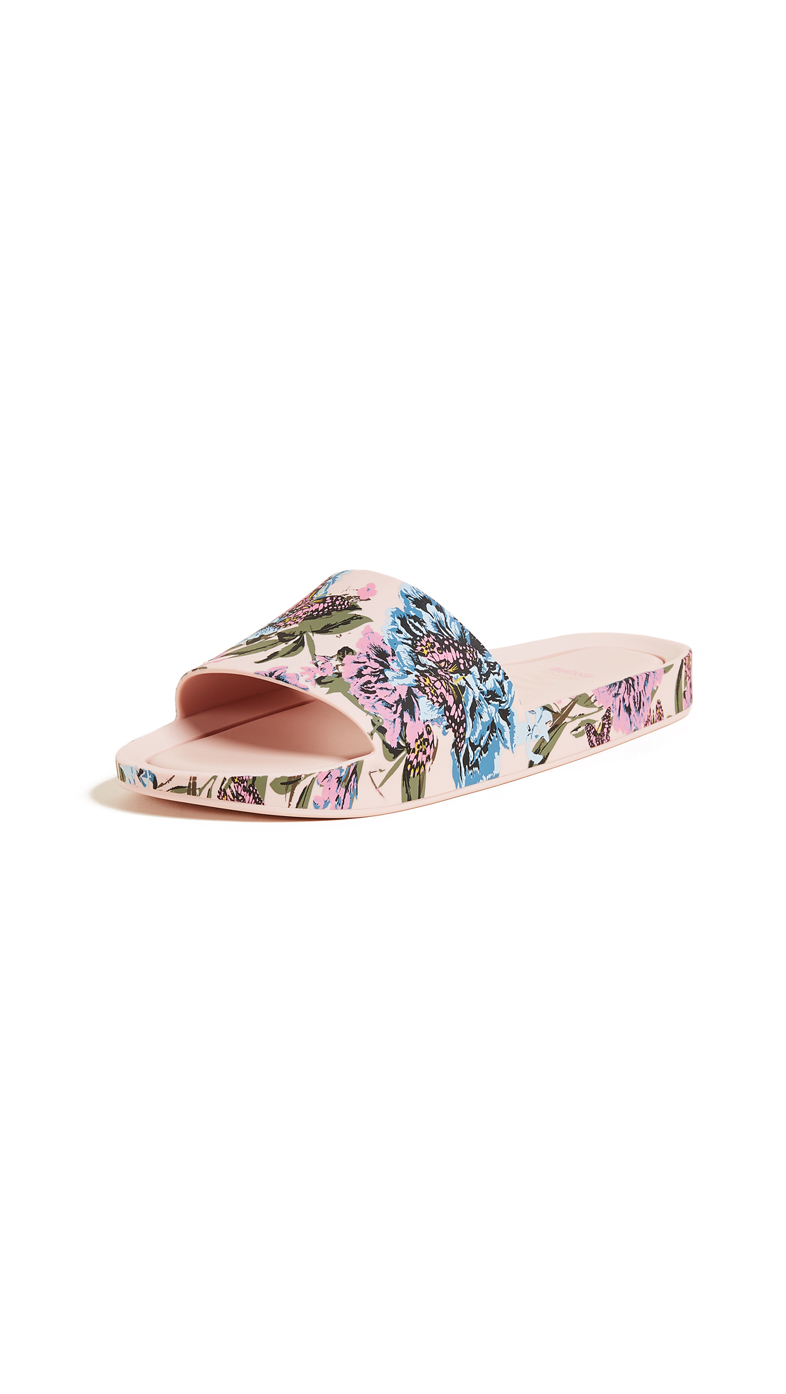 Melissa Beach Slides III - Pink/Blue