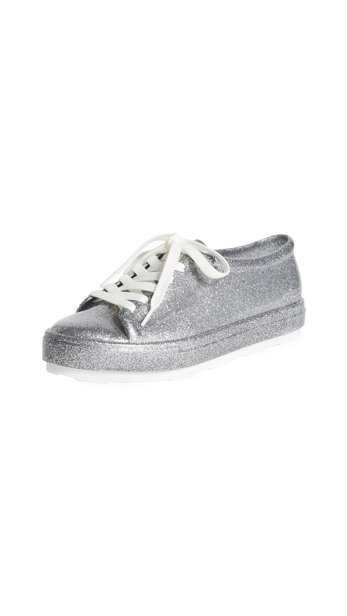 Melissa Be Sneakers - Bright Silver Glitter