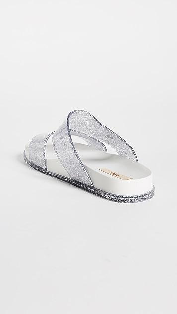 Melissa Cosmic Double Strap Sandals