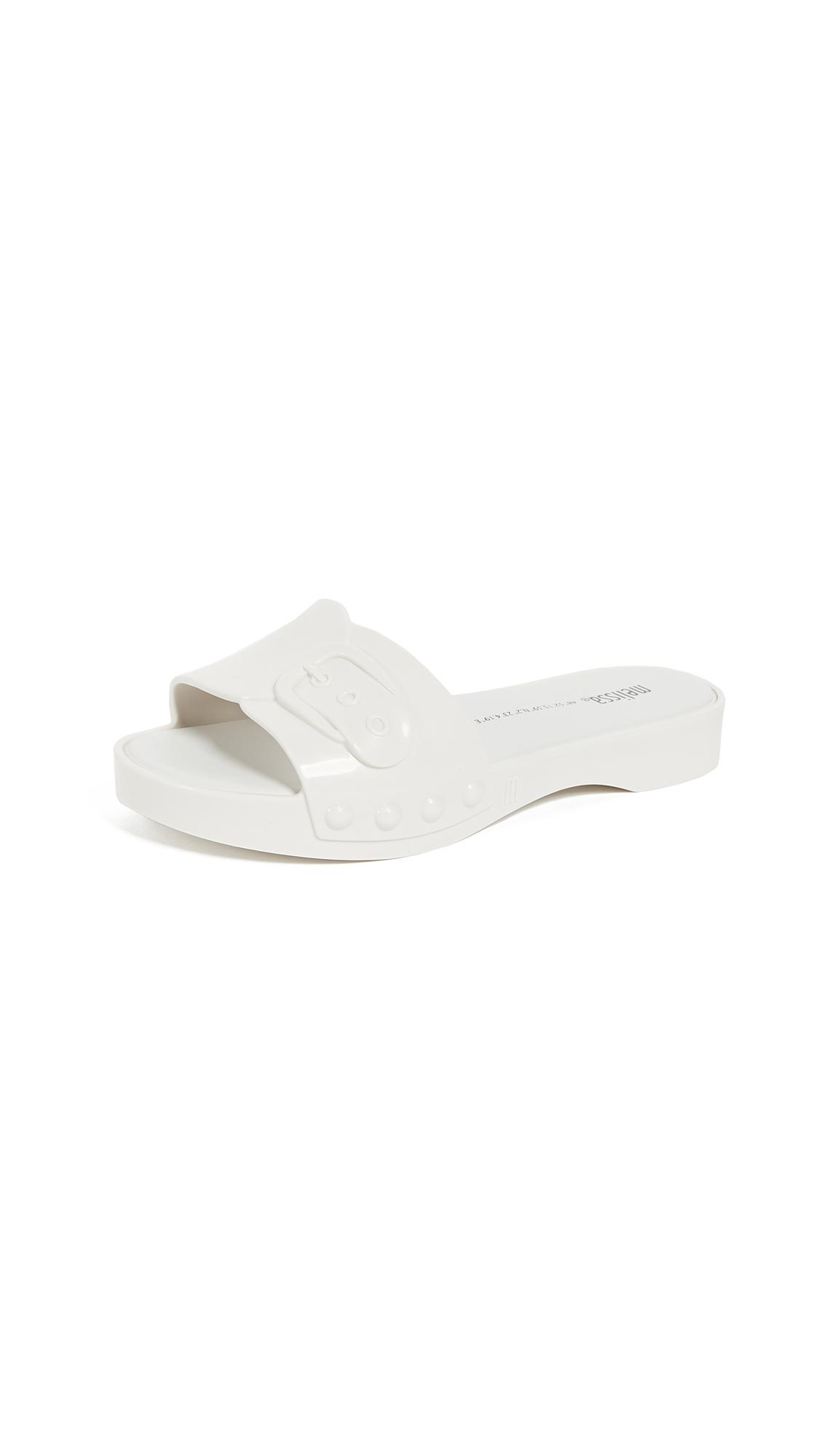 Melissa Belleville Slides - White