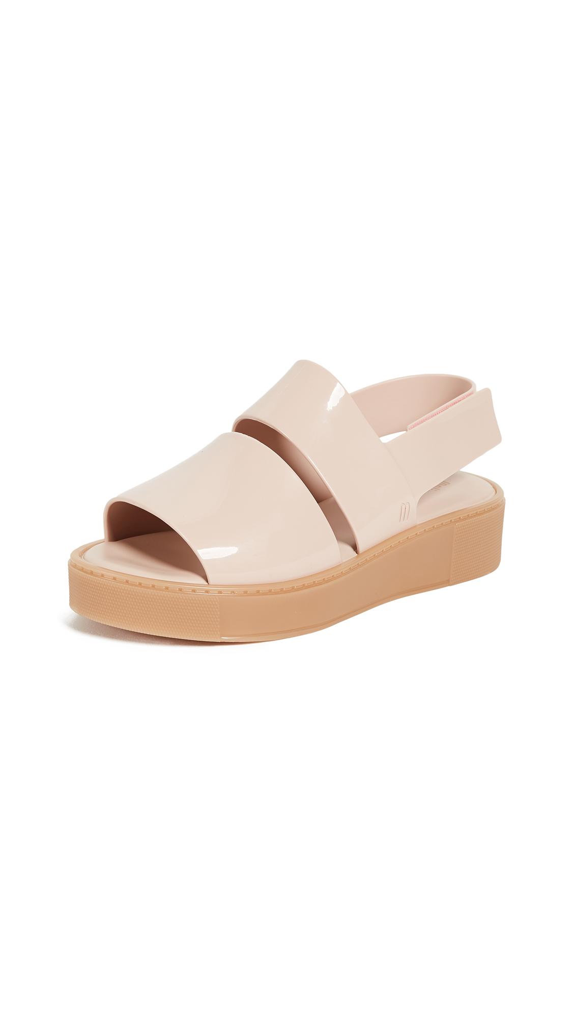 Melissa Soho Platform Sandals - Pink/Beige