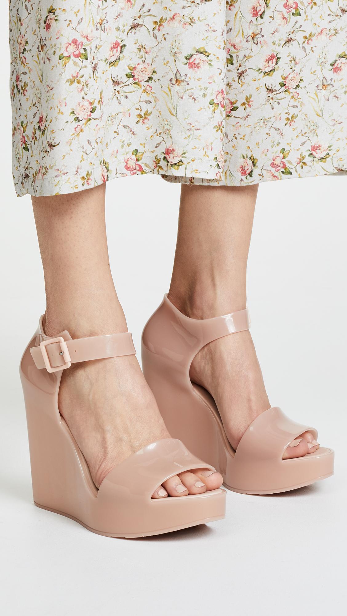 46fc121af3d Melissa Mar Wedge Sandals