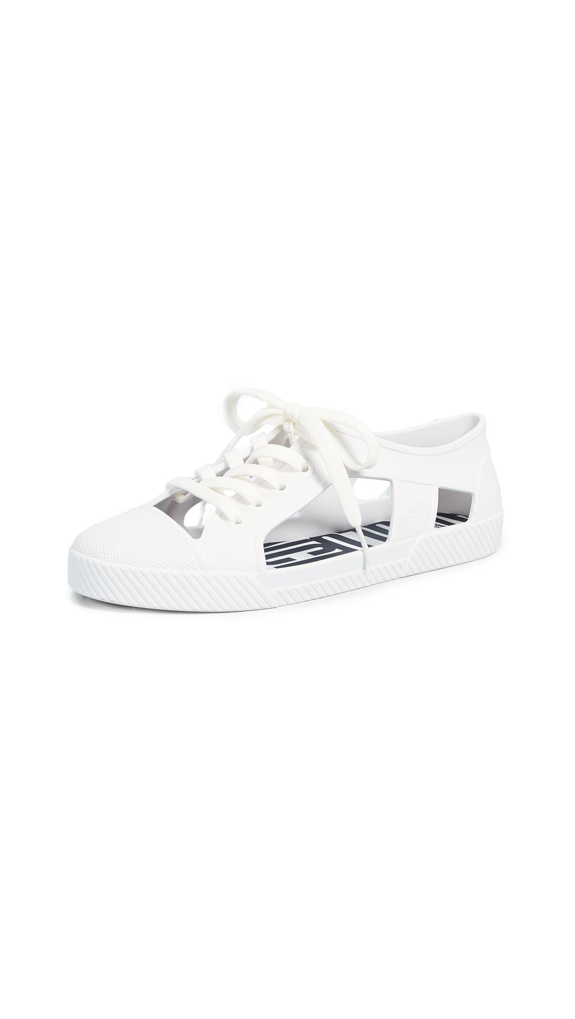 Melissa x Vivienne Westwood Brighton Sneakers - White