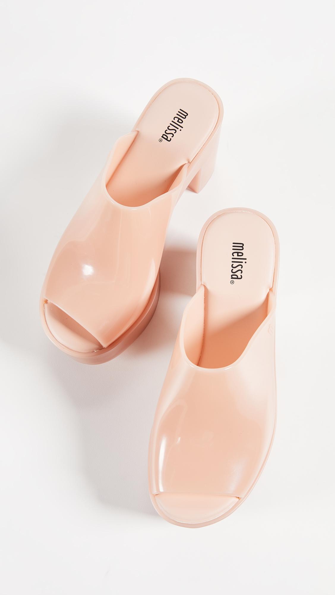 6f7af7ea4bb7 Melissa Platform Mule Sandals