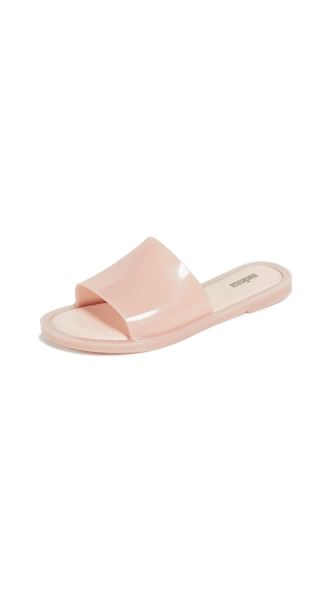 Melissa Soul Pool Slide Sandals - Light Pink