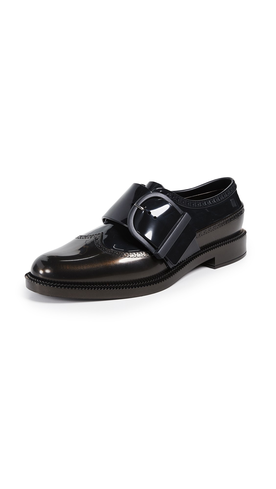 Melissa Classic Brogue Oxfords - Black Bow