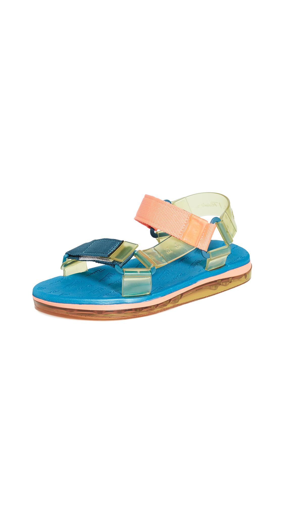 Buy Melissa Papete + Rider Sandals online, shop Melissa