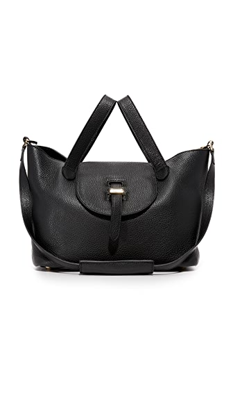 meli melo Medium Thela Bag - Black