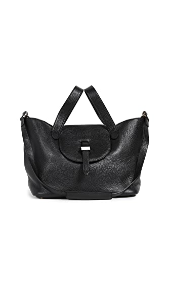 meli melo Medium Thela Bag In Black
