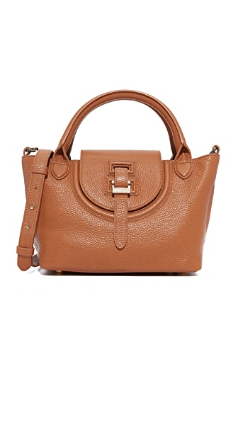 meli melo Classic Mini Thela Halo Bag - Tan