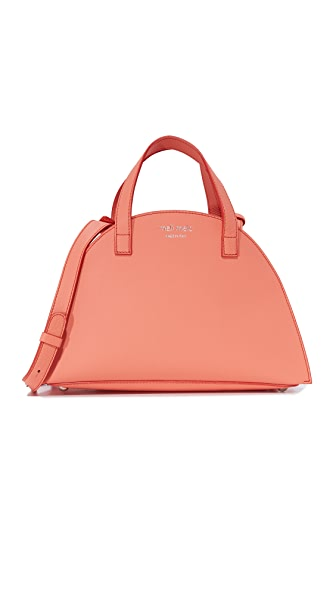 meli melo Giada Mini Satchel - Persimmon