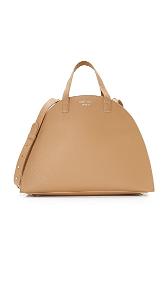 meli melo Giada Satchel - Light Tan