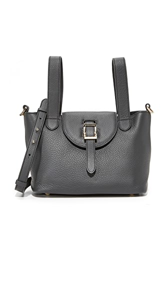 meli melo Thela Mini Satchel - Black