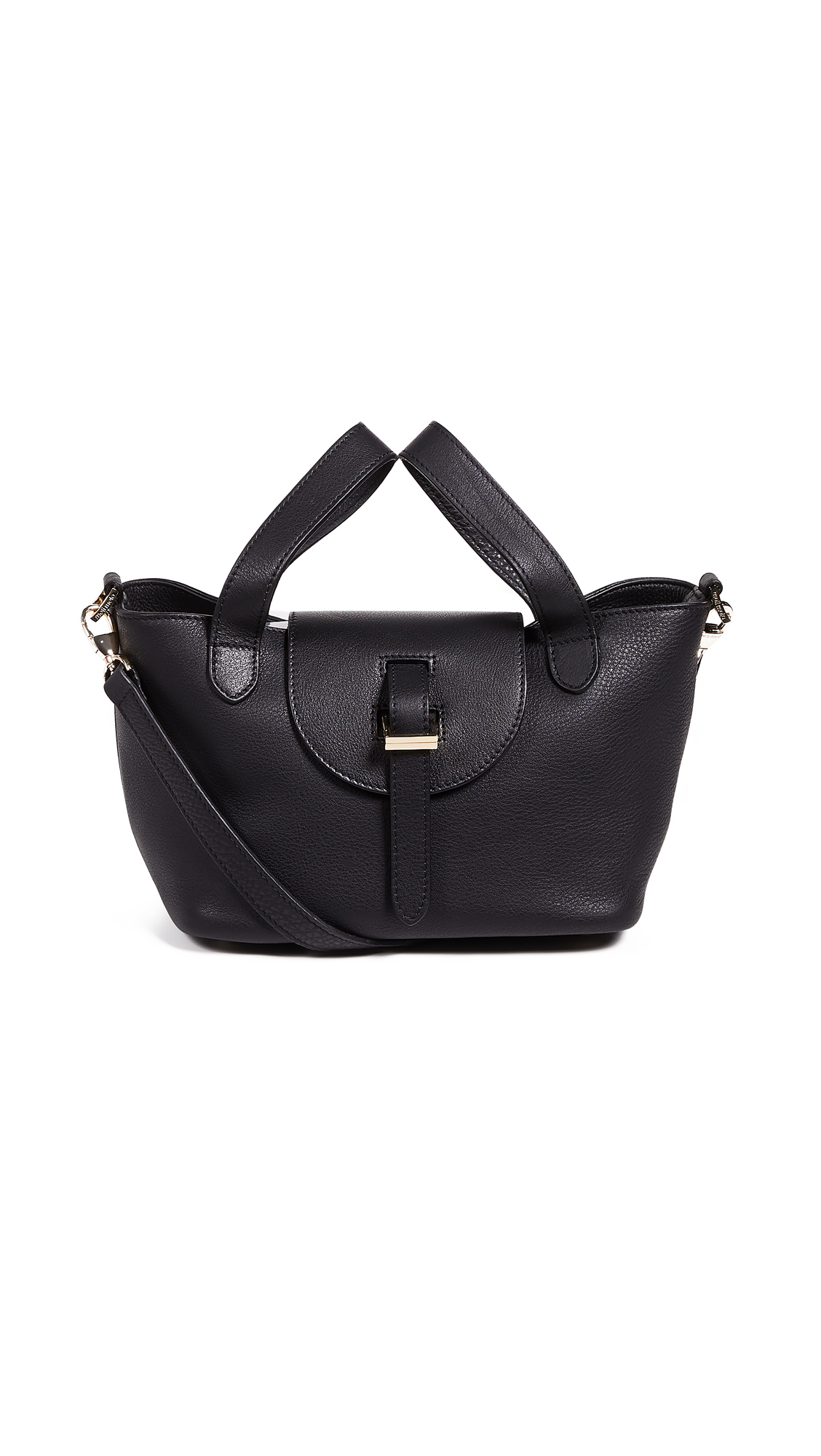 Thela Mini Satchel, Black