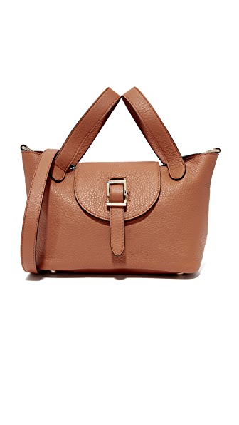 meli melo Thela Mini Satchel - Tan