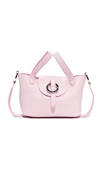 meli melo Rose Thela Mini Satchel - Blush