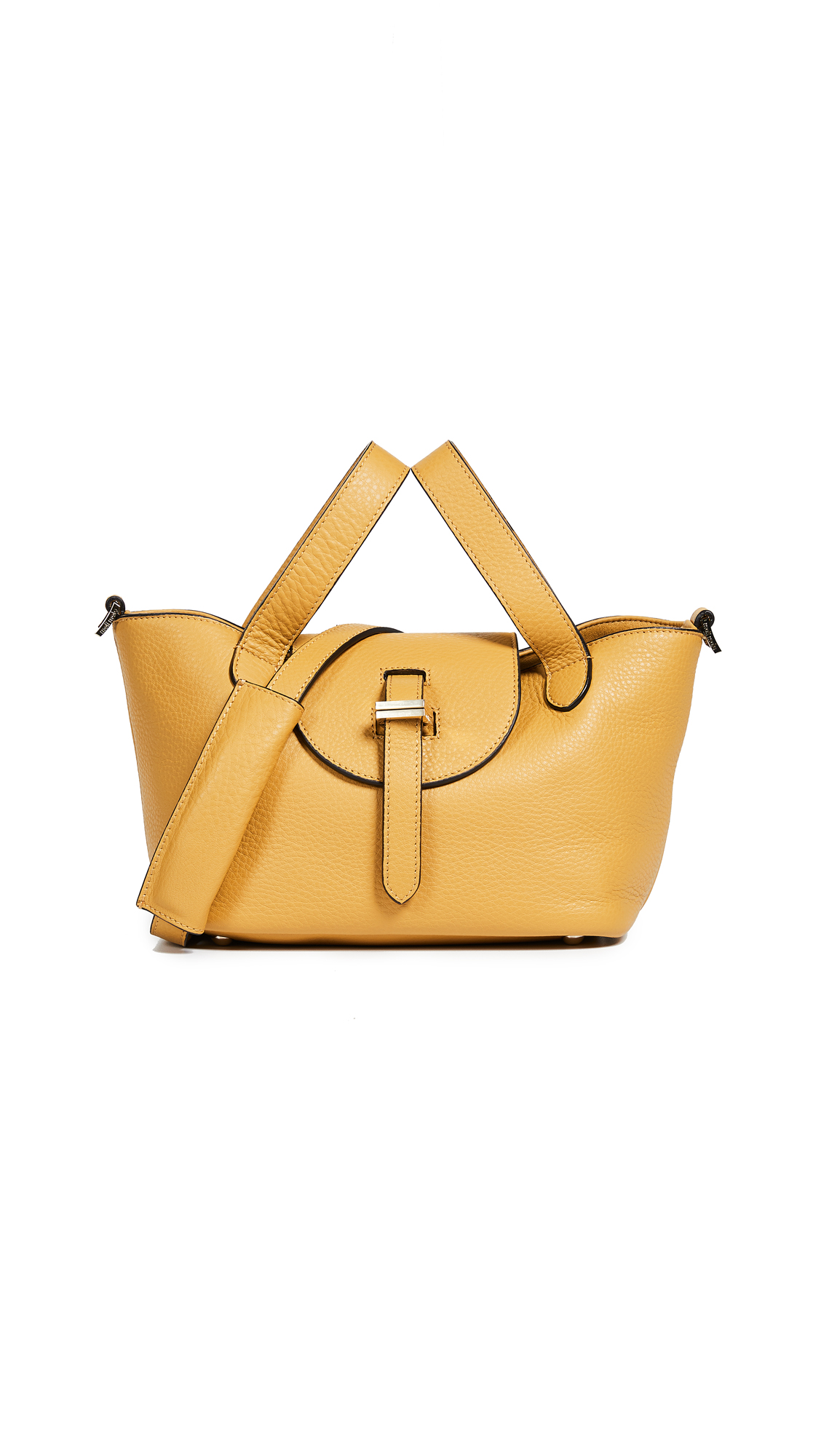 Linked Thela Mini Tote, Gold