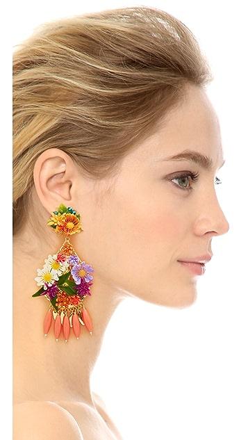 Mercedes Salazar Emilia Mora Clip On Earrings