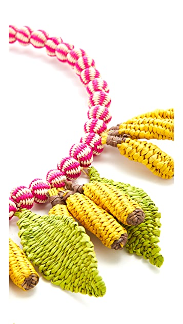 Mercedes Salazar Banana Choker Necklace