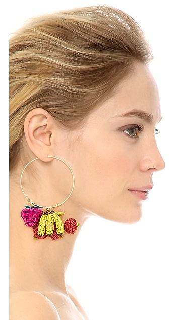 Mercedes Salazar Condongas Tropicalia Earrings