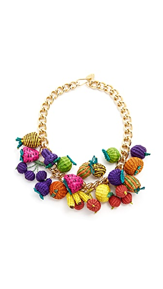 Mercedes Salazar Tuti Fruti Chain Necklace