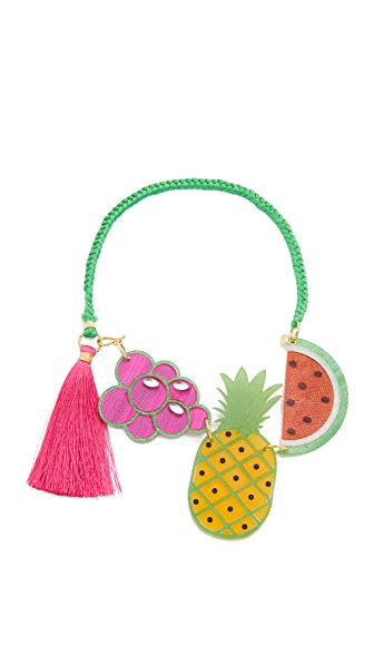 Mercedes Salazar Tuti Fruti Necklace In Multi