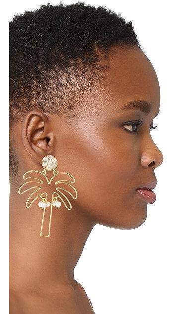 Mercedes Salazar Palmerita Earrings