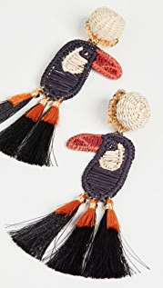 Mercedes Salazar Toucan Earrings