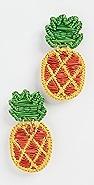 Mercedes Salazar Pineapple 耳环