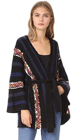 Mes Demoiselles Habibi Cardigan In Black