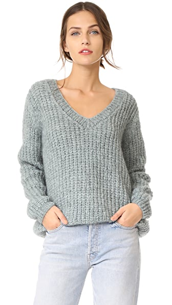 Mes Demoiselles Odeon Sweater - Ice Blue
