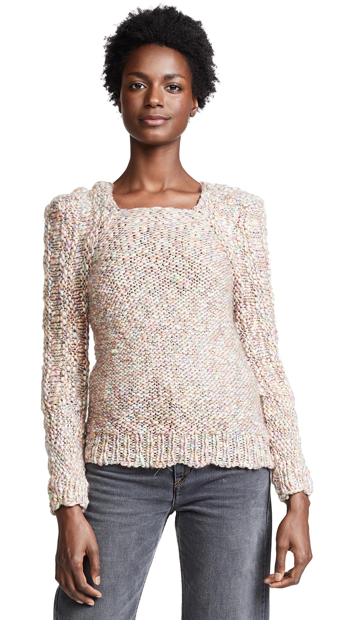 Mes Demoiselles Joplin Sweater In Pastel Multico