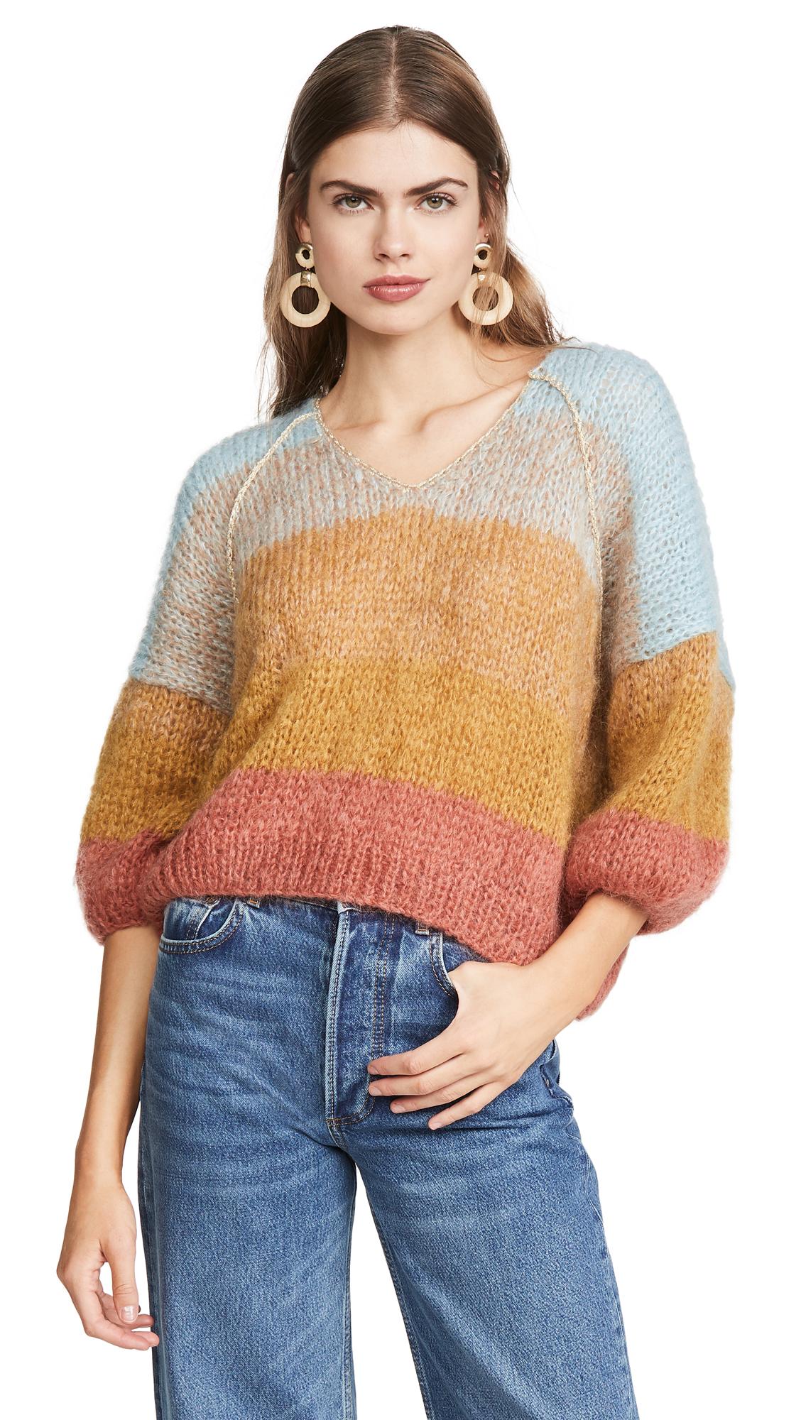 Buy Mes Demoiselles online - photo of Mes Demoiselles Mohair Aguda Sweater