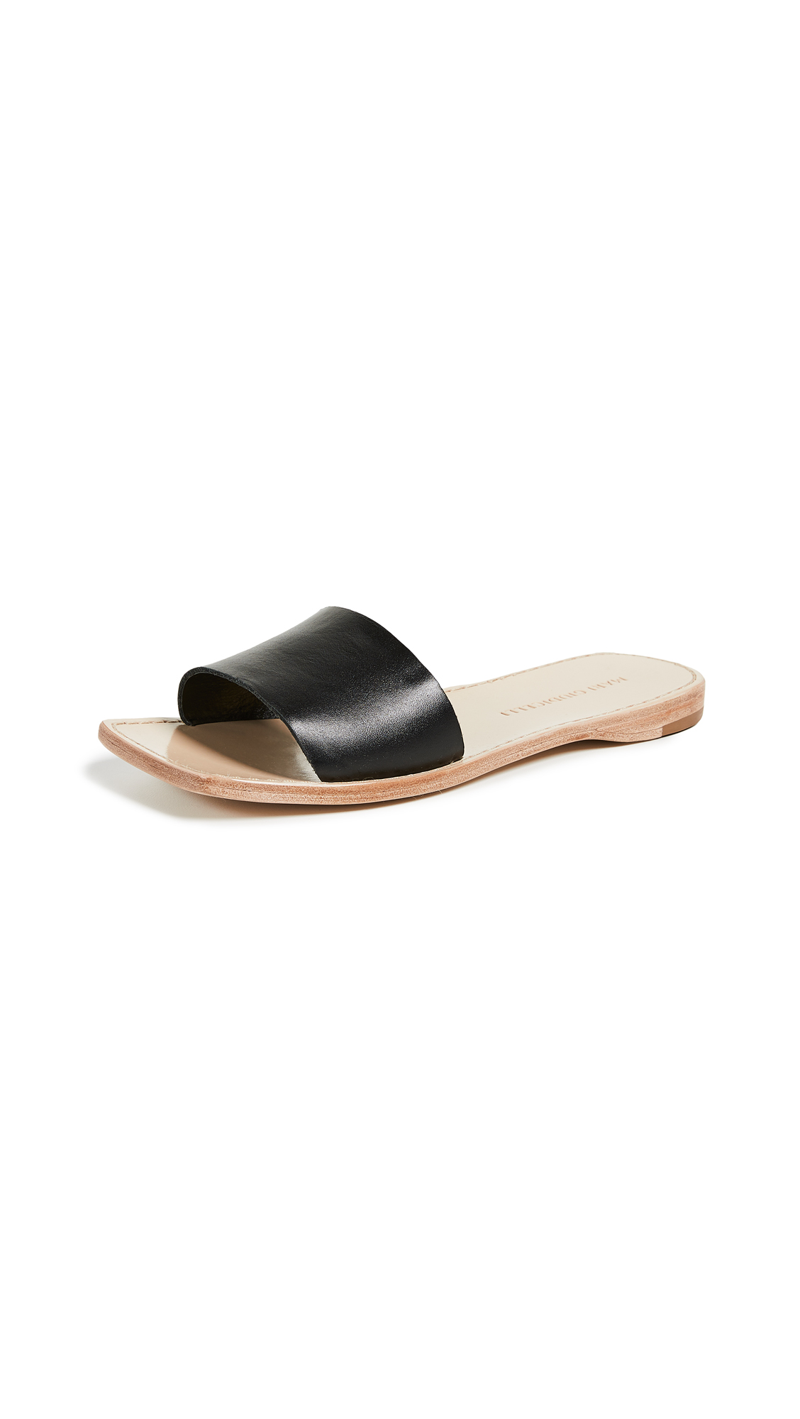 Mari Giudicelli Porto Sandals - Black