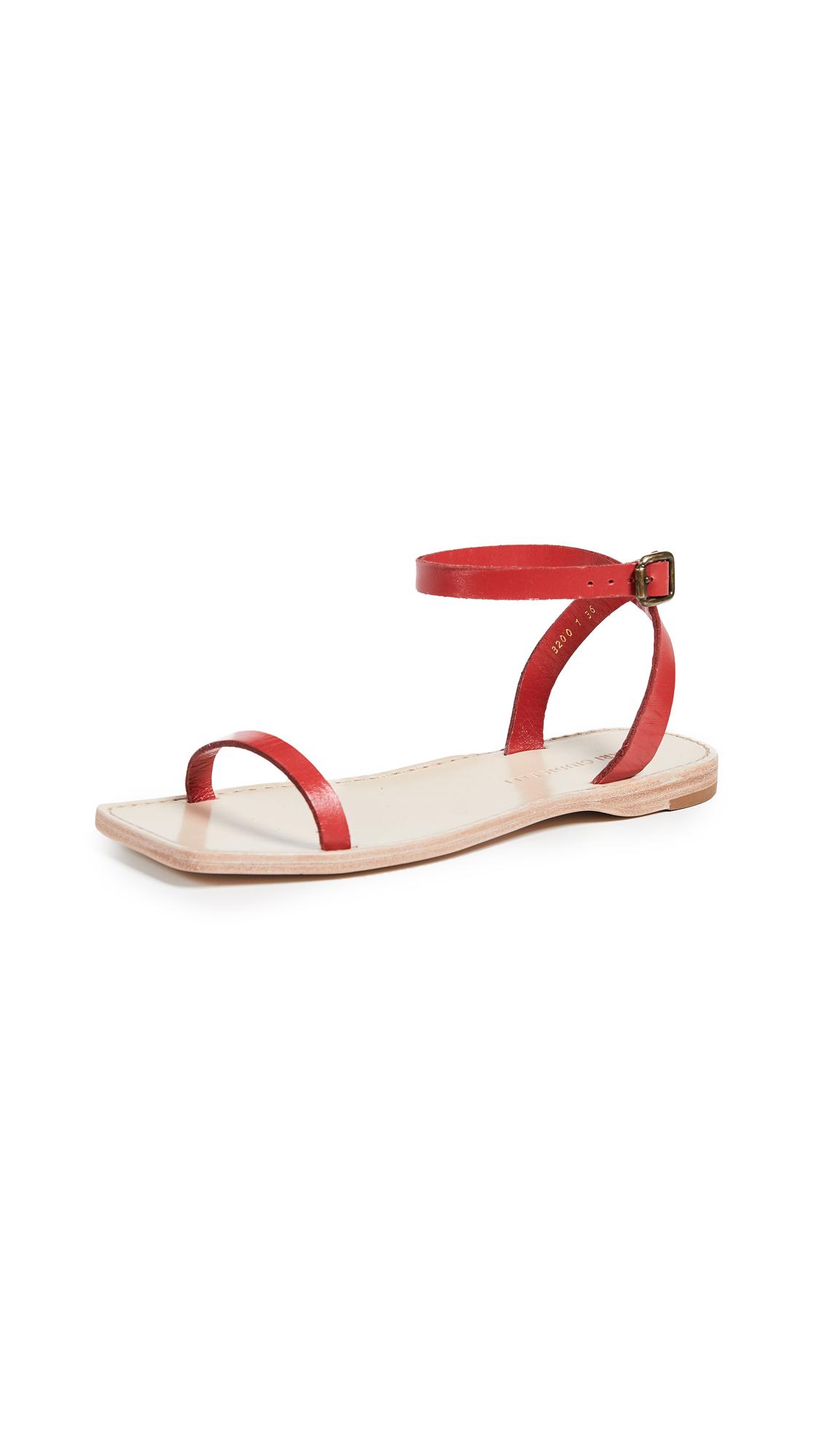 Mari Giudicelli Valencia Sandals - Red