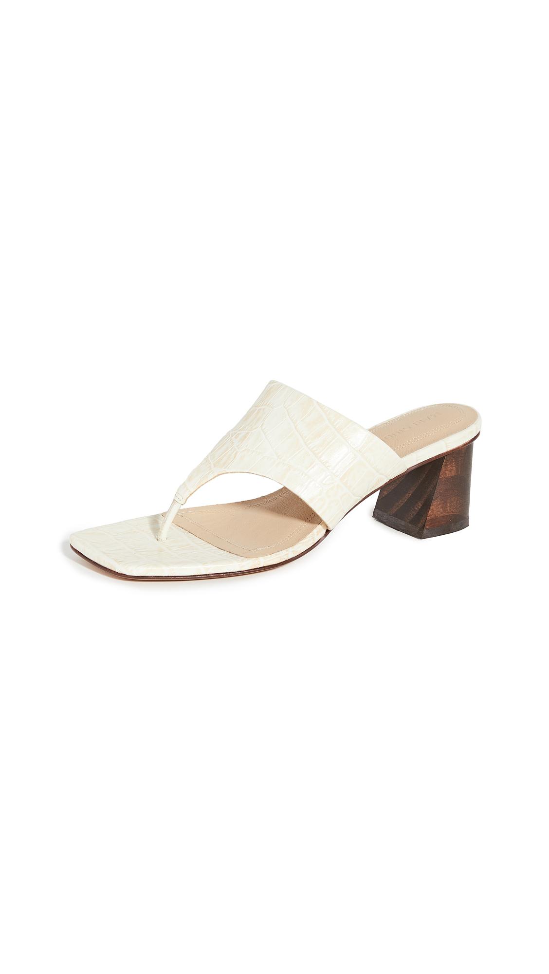 Mari Giudicelli Copa Sandals – 30% Off Sale