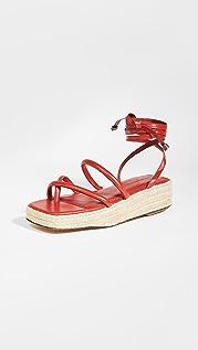 Mari Giudicelli Mica 厚底凉鞋