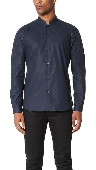 Editions M.R. Officer Collar Shirt