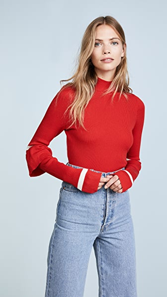 Maggie Marilyn Heart Whisper Sweater - Red