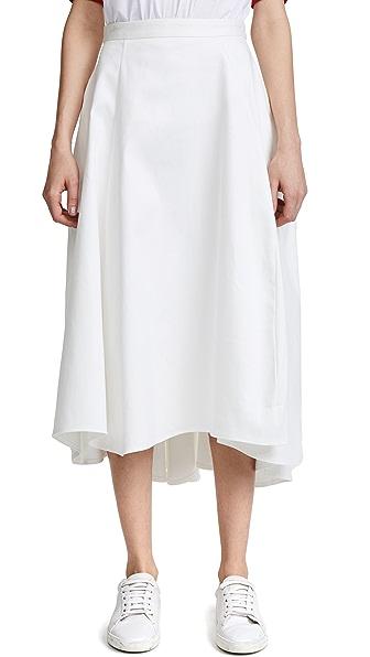 Maggie Marilyn Tulip Skirt In White