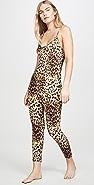Mason Grey Leopard Jumpsuit