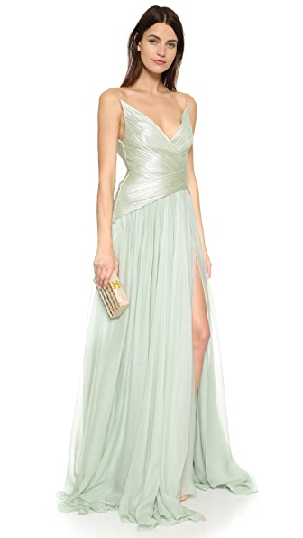 Maria Lucia Hohan Mixed Texture Gown