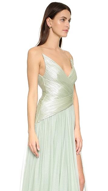 Maria Lucia Hohan Mixed Texture Gown