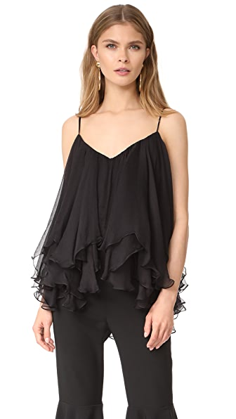 Maria Lucia Hohan Sleeveless Blouse In Black